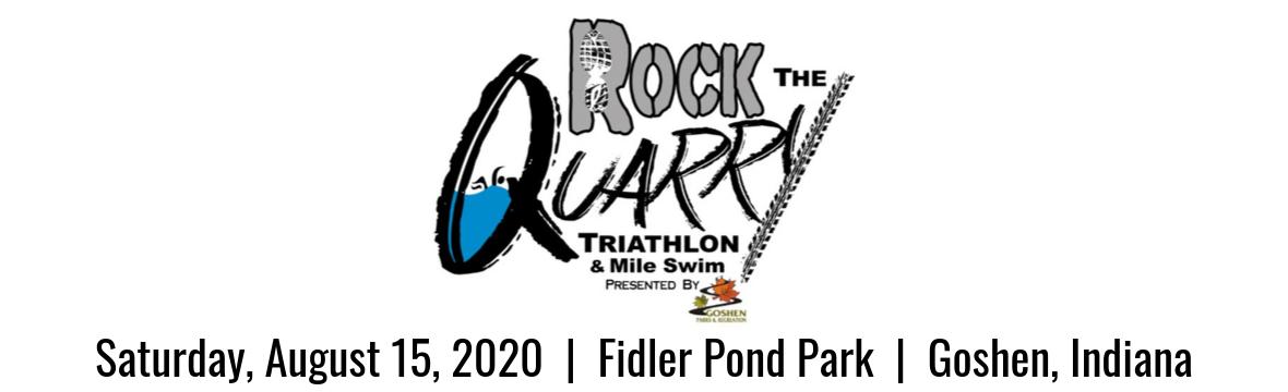 Rock the Quarry Triathlon 2020